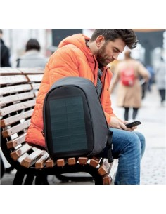 Rucsac laptop antifurt Bobby Tech Solar