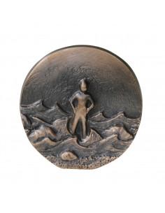 "Relief bronz ""De neclintit"""
