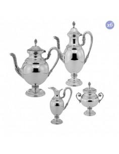 Set ceai cafea argint masiv Impero