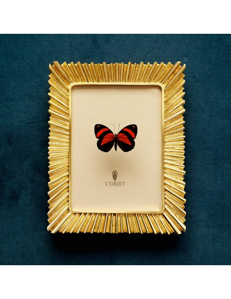 Rama foto placata cu aur L'Objet Ray 10x15