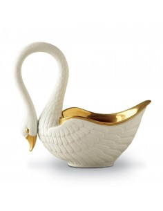 Bol placat cu aur 24k Swan L'Objet