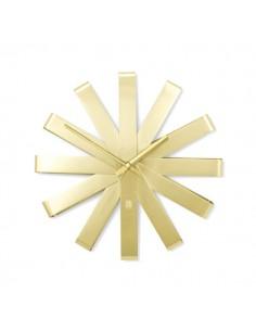 Ceas de perete Umbra Ribbon auriu