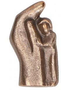 """Statueta bronz""""Copil ocrotit"""""""