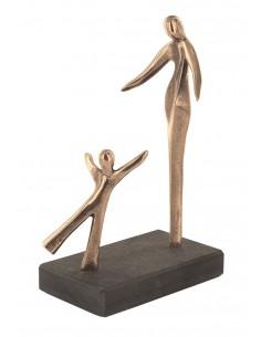 "Statueta bronz ""Intalnire"""