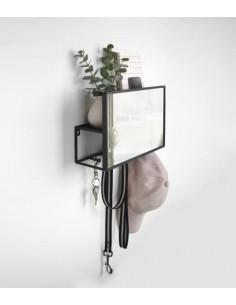 Oglinda cu organizer Umbra Cubiko