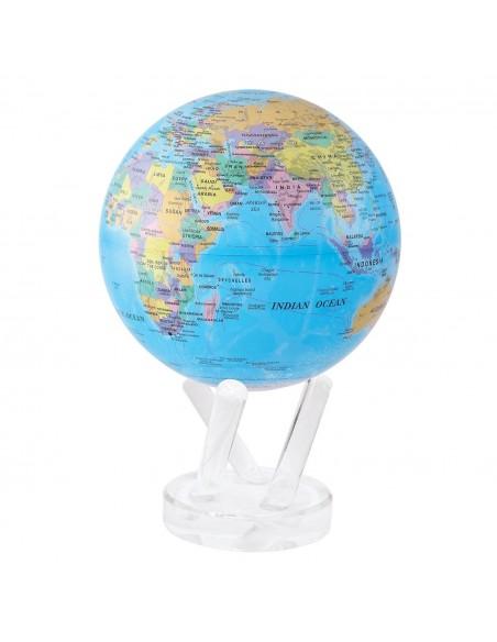 Glob pamantesc rotativ solar Mova Politic Blue
