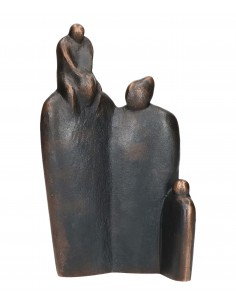 "Statueta bronz ""Familie..."