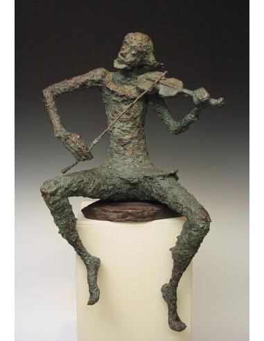 """Statueta bronz """"Maestru violonist"""" editie limitata"""