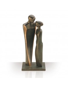 "Statueta bronz ""Cuplu indragostit"""