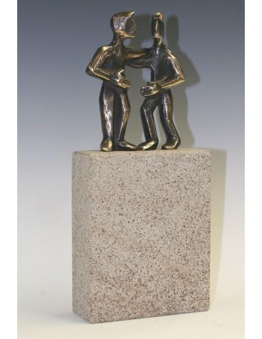 "Statueta bronz ""Partener"""