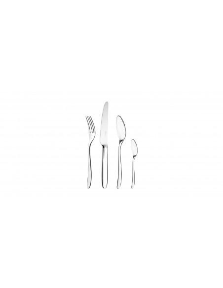 Set tacamuri argintate Mood by Christofle cu suport capsula