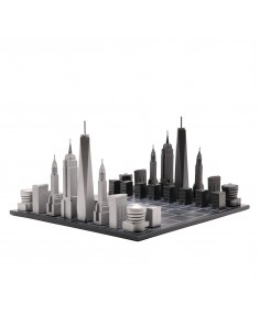 Joc de sah Skyline New York Premium Metal