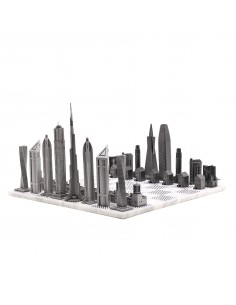 Joc de sah Skyline Dubai vs. San Francisco Premium Metal