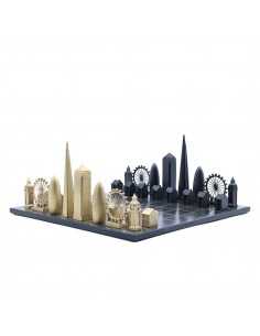Joc de sah Skyline London Luxury Bronze