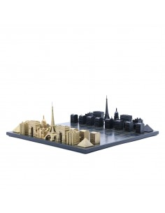 Joc de sah Skyline Paris Luxury Bronze