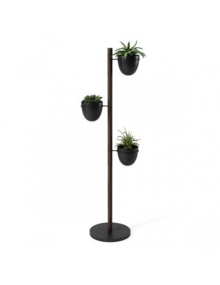 Stand 3 vaze suspendate Umbra Floristand dark