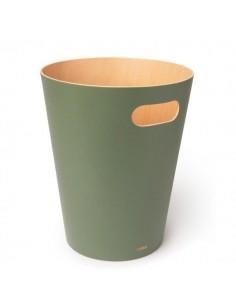 Cos de gunoi Umbra WOODROW verde