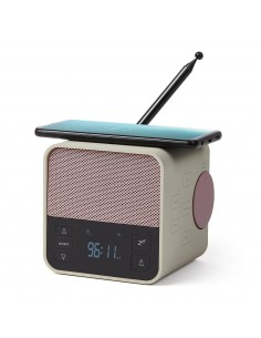 Radio cu ceas, bluetooth si incarcator wireless Oslo News
