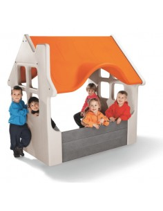 Casuta exterior copii Luma Orange