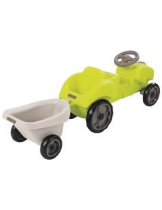 Jucarie tractor cu remorca Malo Green