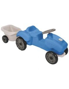 Jucarie tractor cu remorca Malo Blue