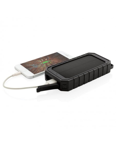 Baterie externa solara cu incarcare wireless 10000mAh