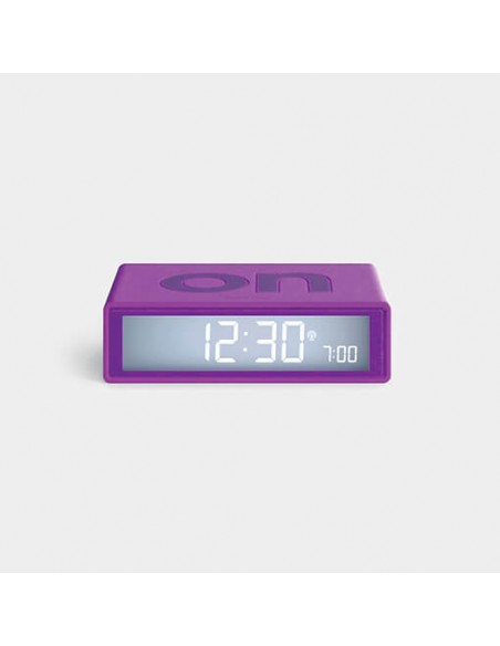 Ceas inteligent cu alarma Lexon Flip+ purple