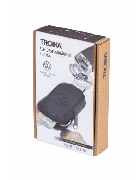Breloc VW cu portofel piele Troika