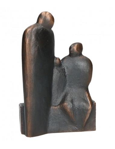 """Statueta bronz """"Parinti impliniti"""""""