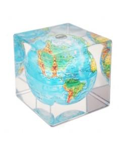 Glob solar rotativ Mova cube
