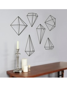 Decor Umbra Prisma negru set