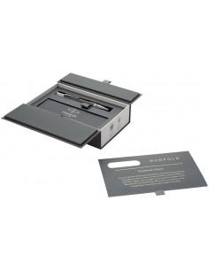 Pix Parker Duofold Classic Black placat cu aur 23k