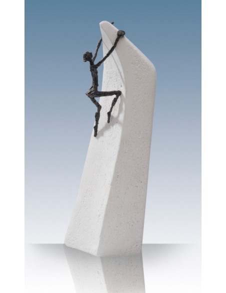 """Statueta bronz """"Orice este posibil"""""""