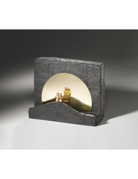 "Statueta bronz ""Tacere"""