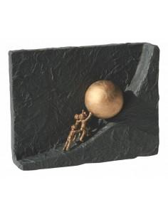 "Statueta bronz ""Forta in echipa"""