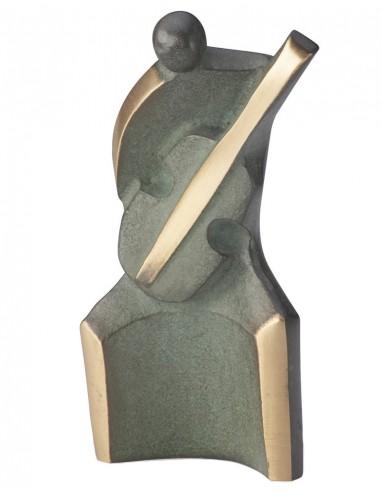 "Statueta bronz ""Chitarist"""