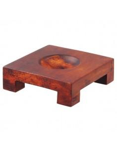 Baza patrata lemn glob Mova L