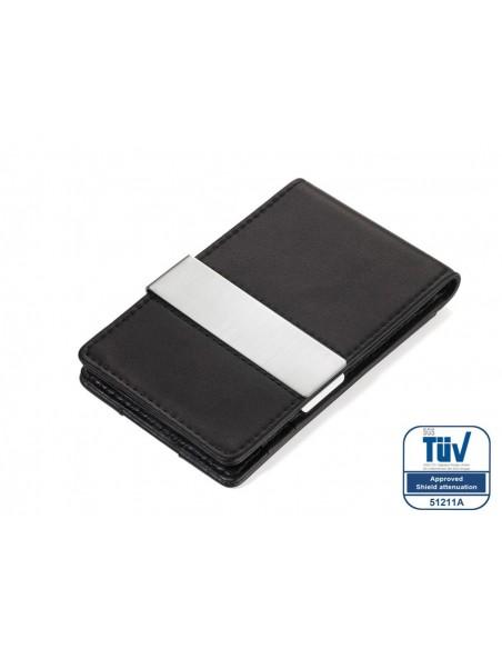Suport carduri cu clip Troika CardSaver