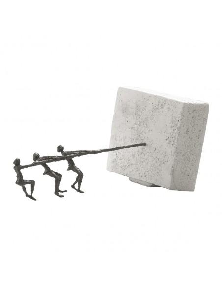 "Statueta bronz ""Echipa puternica"""