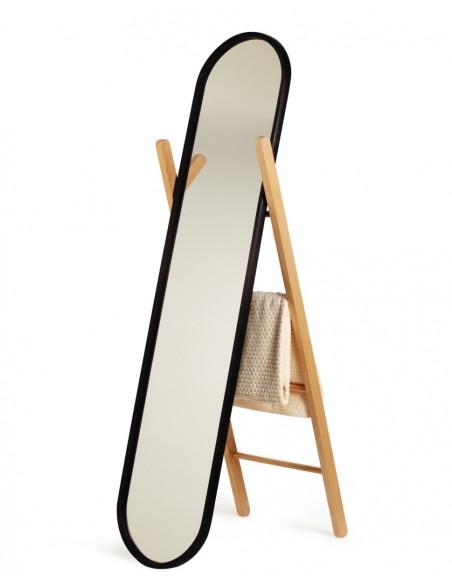 Oglinda podea cu suport tip scara Umbra HUB