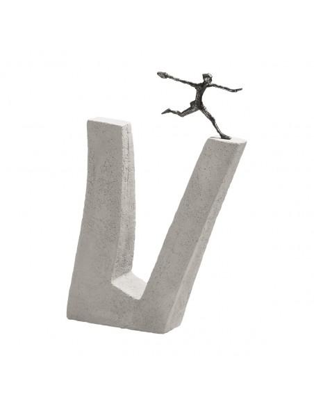 "Statueta bronz ""Curaj"""