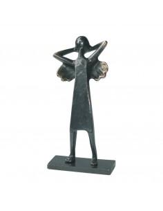 """Statueta bronz """"Inger relaxat"""""""
