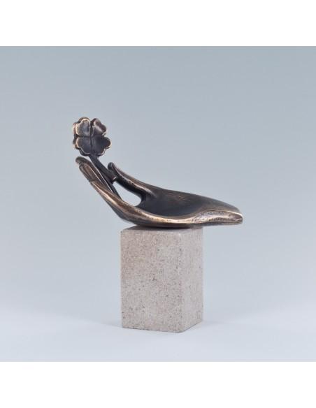 "Statueta bronz ""Noroc"""