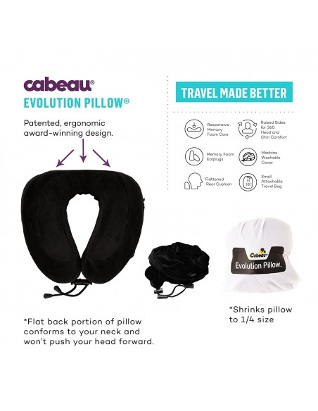 Perna calatorie Cabeau Evolution Midnight