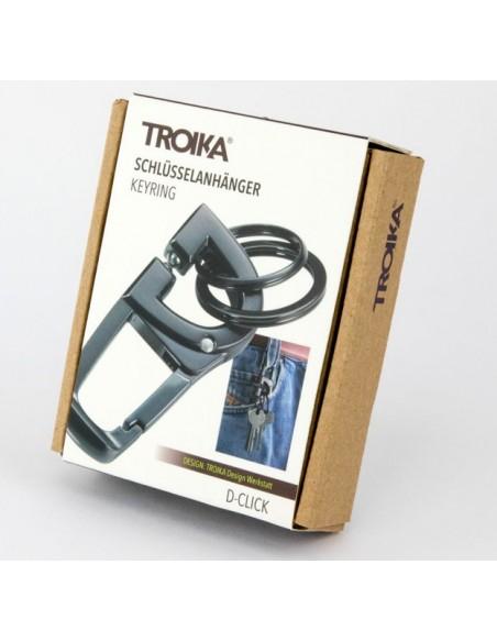 Breloc cu carabina D-Click Troika