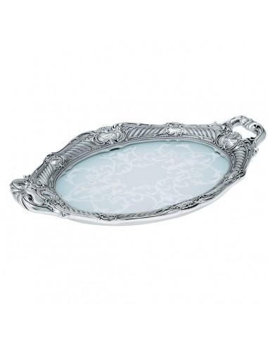Bol cristal si argint Baroque