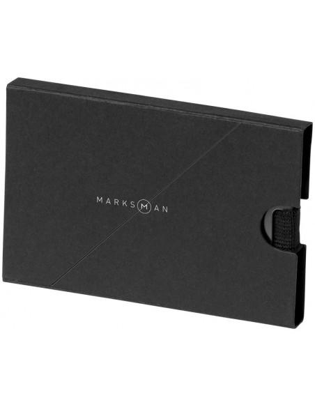 Suport carduri cu protectie RFID Marksman Adventurer gri