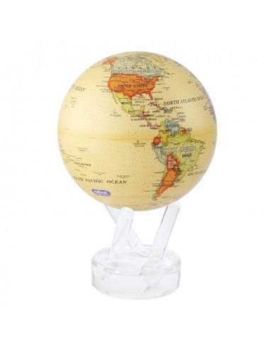 Glob pamantesc rotativ solar Mova Yellow XL