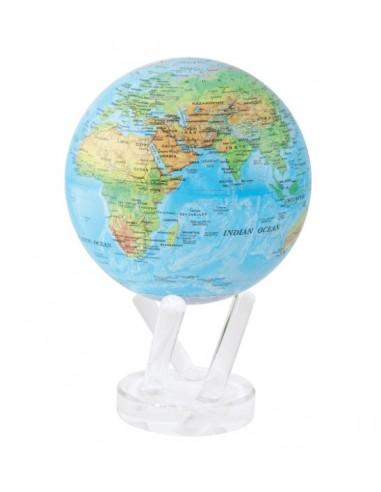 Glob pamantesc rotativ solar Mova Relief Blue XL