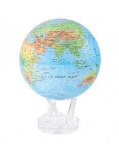 Glob pamantesc rotativ solar Mova Relief Blue XXL